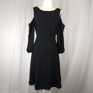 NWT Adrianna Papell Cold-Shoulder Dress Size 10